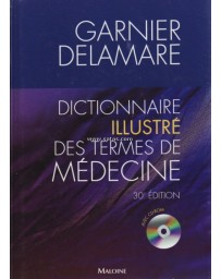 Dictionnaire illustré des termes de médecine Garnier-De