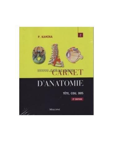 CARNET D'ANATOMIE - TOME 2