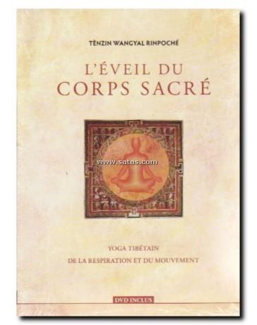 L'éveil du corps sacré - Yoga tibétain, de la respiration et du mouvement   (Livre + DVD)