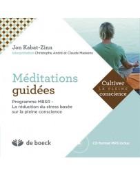 Méditations guidées - MBSR - La réduction du stress (CD inclus)