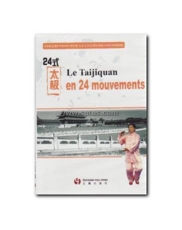 Le Taijiquan en 24 mouvements (DVD)
