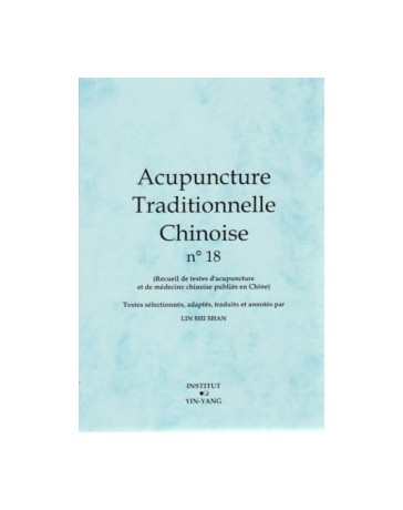 Acupuncture traditionnelle chinoise n° 18