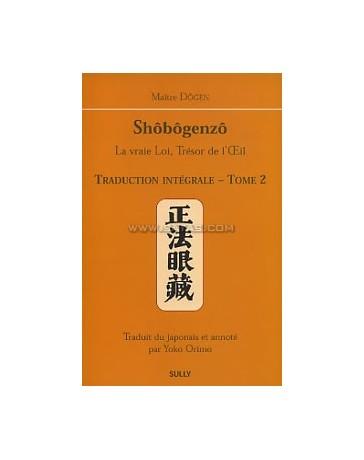 SHOBOGENZO EDITION INTEGRALE TOME 2