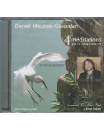 4 méditations pour nos cellules et notre âme  (CD)