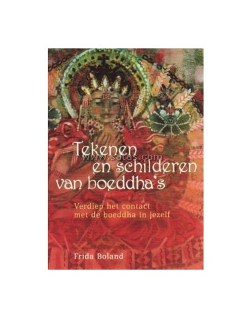 Tekenen en schilderen van boeddha's. Verdiep het contac