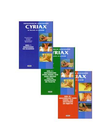 Cyriax I, II et III - Orthopedische geneeskunde in theorie en praktijk