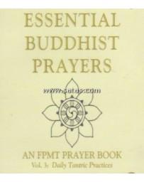 Essential Buddhist Prayers - An FPMT Prayer Book  Volume 3  (CD)