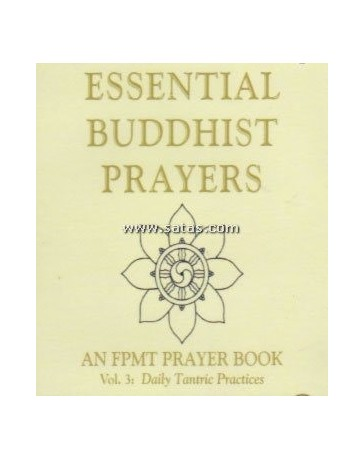 Essential Buddhist Prayers - An FPMT Prayer Book  Volume 3  (CD)