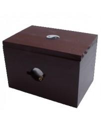 Brûleur à Moxa Deluxe avec couvercle (bois et métal)