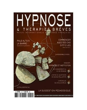 Revue Hypnose et Thérapies Brèves n°19