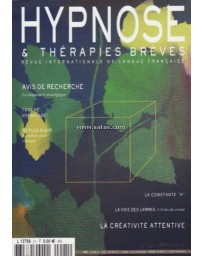Revue Hypnose - Thérapies Brèves n°21