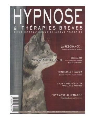 Revue Hypnose et Thérapies Brèves n°26