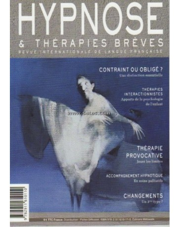 Revue Hypnose et Thérapies Brèves n°29