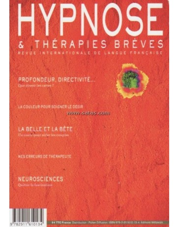 Revue Hypnose et Thérapies Brèves n°30
