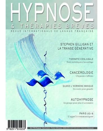 Revue Hypnose et Thérapies Brèves n°34