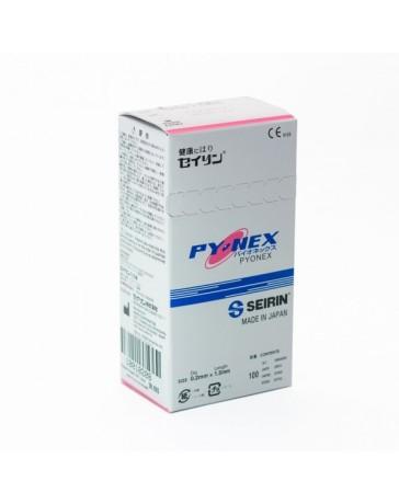 Seirin® New Pyonex (100pcs/boîte) Aiguilles à demeure 0.2 x 1.5mm