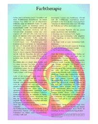 Kleurentherapie (Poster A4)