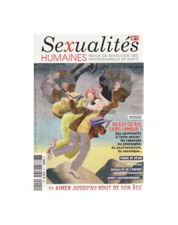 Revue Sexualités Humaines n°01