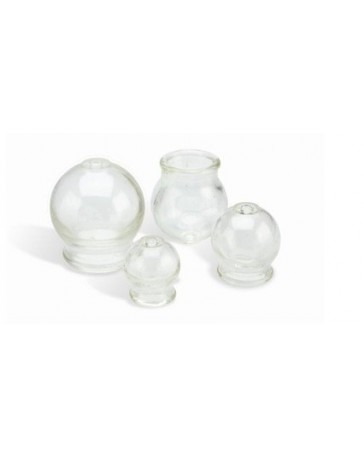 Cupping cups in glass Size (L) mod.3