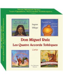 Les quatre accords toltèques - Coffre de cartes