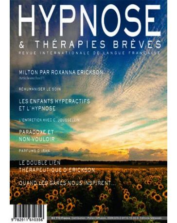 Revue Hypnose et Thérapies Brèves n°40