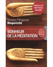 Bonheur de la méditation - Poche