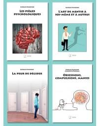 Set de 4 Nardone: Pièges psychologiques, La peur de décider, Art de mentir, Obsessions