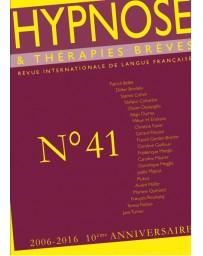 Revue Hypnose et Thérapies Brèves n°41