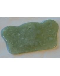 Massage tool Gua Sha G (9 x 6 cm) (Jade)