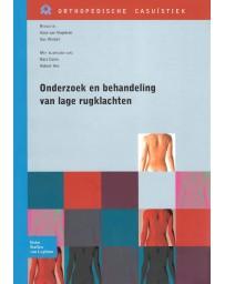 Onderzoek en behandeling van lage rugklachten