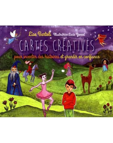 Cartes Créatives pour inventer des histoires et grandir en confiance   (coffret)