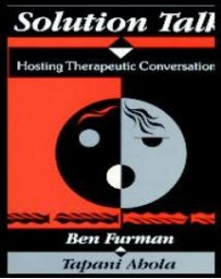 Solution Talk. Hosting Therapeutic Conversations