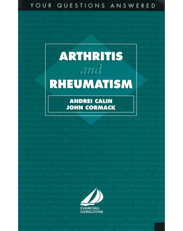 Arthritis and Rheumatism - Your questions answered