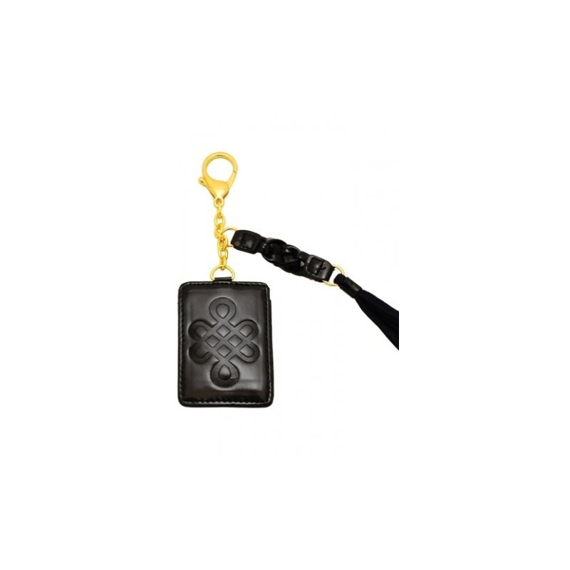 Protective Mantra Tag Mystic Knot