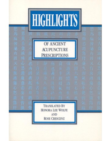Highlights of Ancient Acupuncture Prescriptions