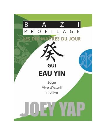 Bazi profilage - Les 10 Maîtres du jour - Gui Eau Yin