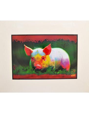 Signe astrologique chinois: Cochon (poster)