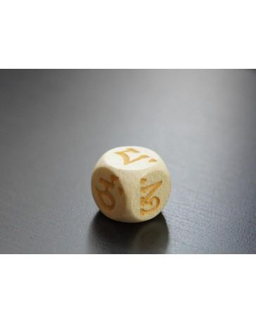 Tibetan dice to be used during Manjushri's MO Oracle