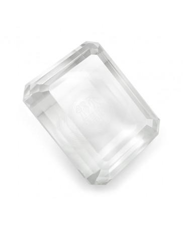Diamant rectangulaire transparent