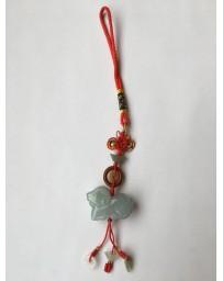 Jade schaap met mystieke knoop