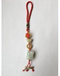 Jade paard met mystieke knoop