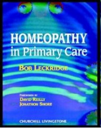 HOMOEOPATHY IN PRIMARY CARE