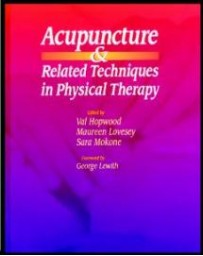 ACUPUNCTURE AND RELATED TECHNIQUES IN PHYSICAL THERAPY