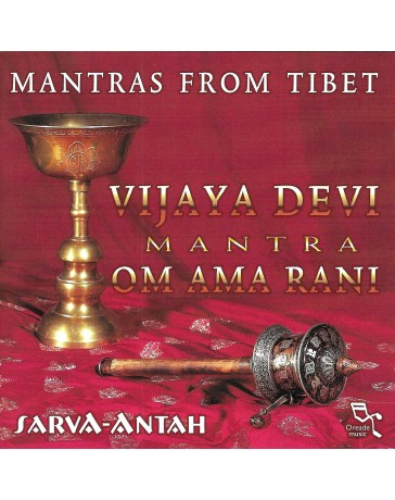 Mantras from Tibet - Vijaya Devi Mantra Om Ama Rani   (2 CD)