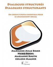 Dialogues structurés, dialogues structurants (Bleu - légèrement abîmé)