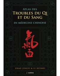Atlas des troubles du Qi et du sang en médecine chinoise (Jaune - moyennement abîmé)