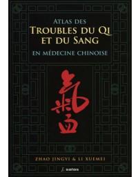 Atlas des troubles du Qi et du sang en médecine chinoise (Bleu - légèrement abîmé)