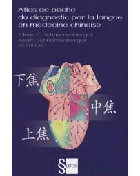 Atlas de poche du diagnostic par la langue en médecine chinoise    (Bleu - légèrement abîmé)