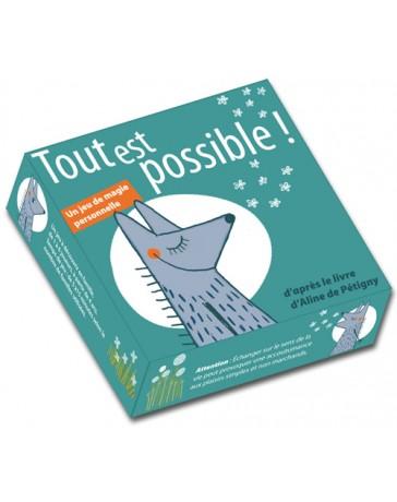 """Jeu de cartes """"Tout est possible!"""" - Un jeu de magie personnelle"""