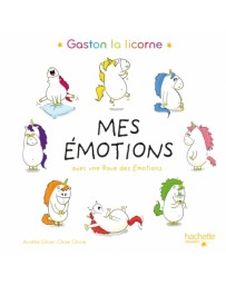 Gaston la licorne - Mes émotions  avec une roue des émotions